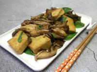 蠔油塔香舞菇蛋豆腐【好菇道營養料理】