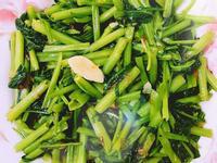 油蔥空心菜