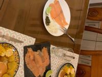 簡易煙燻鮭魚