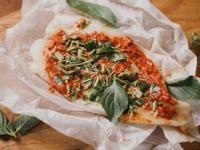 低醣料理 <海鮮> 泰式紅咖哩紙包魚
