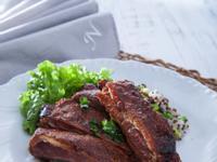 低醣料理 <豬肉> 低溫烘培BBQ豬肋條
