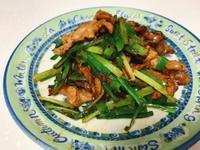 韭菜炒肉片