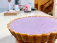 免烤!藍莓生乳酪塔(6吋