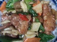 菇菇滑肉片(好菇道營養料理)