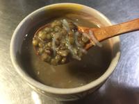 清涼消暑綠豆蒟蒻湯