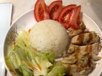 蒜味雞肉飯[大同電鍋料理]
