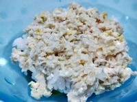 電子鍋副食品-雞肉蓋飯/親子丼