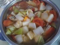(基本湯底)高纖蔬食雞湯