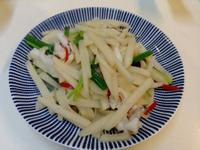 豆薯炒花枝