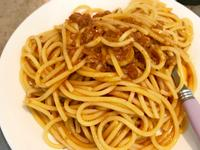10分鐘-辣味肉醬變身-義大利麵
