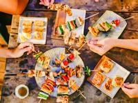 中秋豆腐豆皮串燒|禾乃川小廚房