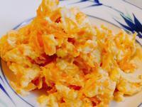 快速便當菜-鈣多多紅蘿蔔炒蛋
