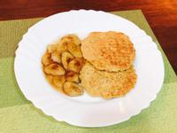 焦糖香蕉燕麥鬆餅(無麵粉)