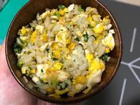 玉米蛋炒飯[寶寶食譜]