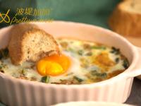 焗烤起司太陽蛋