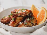 低醣料理 <雞肉> 酥烤橙汁雞翅