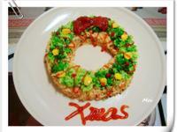 【親子食堂】聖誕花圈飯飯2