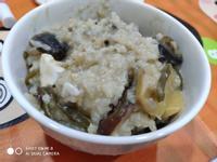 電子鍋-雙蛋香菇素粥(皮蛋、鹹蛋)
