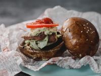 低醣料理 <牛肉> 波特牛肉漢堡