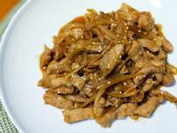 嫩薑絲洋蔥燒松阪肉片