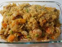 海鮮南瓜燉飯