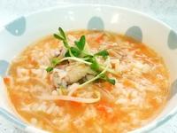 紅蘿蔔豆芽雞肉鹹粥