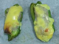 起司焗魚肉釀青椒