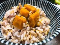 秋風栗子南瓜五穀雜糧藜麥飯
