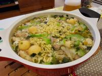 颱風天專用豪華版泡麵鍋