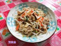 豆芽菜什錦炒