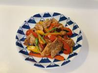 甜椒炒豬肉