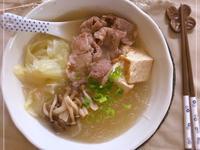 油豆腐粉絲湯 (露營OK)