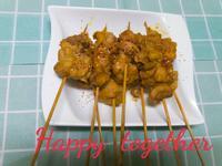快樂椰香咖哩雞肉串🍡
