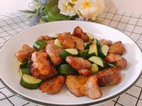 氣炸鍋料理-梅花骰子豬