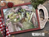 酸菜菊花肉片湯