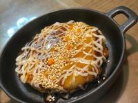 剩菜料理-無麵粉大阪燒,燒飯團