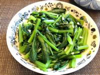 蒜炒小松菜