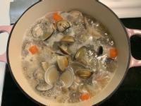 滿滿鋅元素的蒜頭蛤蜊雞湯