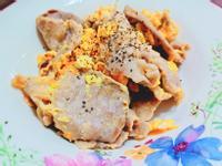 豬五花滑蛋*香嫩~簡單快速健康料理