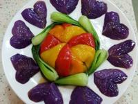 愛心紫色茄.全素
