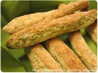 用鬆餅粉做 - 義式香料棒