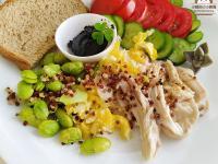 微波煮藜麥。包含冷凍保存及復熱分享