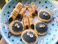 👻不死甜萬聖節剁手指餅乾+黑炭鬼🎃