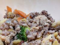 |新手料理| 五色蔬菜蒸飯