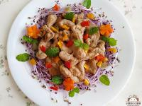薑燒豬肉沙拉