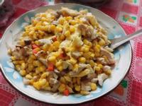 雞絲炒玉米