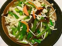 金針菇炒青椒