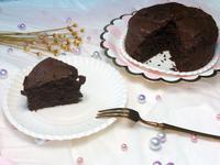 ☀️生酮低醣無粉超濃巧克力蛋糕☀️5吋