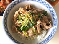 懶得做也會這麼好吃!韓式豬肉片丼