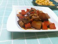 煮一鍋~紅白蘿蔔滷肉🍜